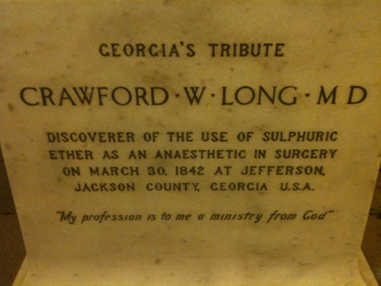 Crawford Long MD