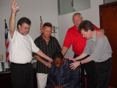Prayer and Fasting Group in Liberia